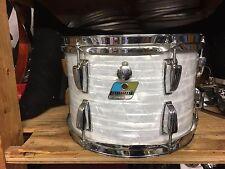 Vintage BLue Olive Ludwig WMP 8x12 Tom Drum Excellent Condition