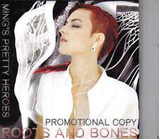 Mings Pretty Heroes-Roots And Bones Promo cd album Cardsleeve