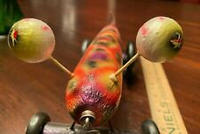 Funny Farm Tackles NAUTICAL ODDITY - Vintage style wooden fishing lure pull toy