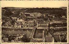 Dinant Belgien s/w AK 1941  Panorama et faubourg St. Médard Vorstadt ungelaufen