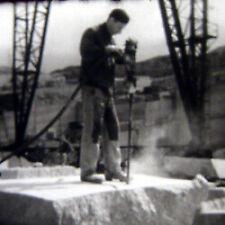 Film 16 mm: Le Marbre