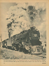 1956 Pennsylvania Railroad #3678 Double Head Train Point Pleasant New Jersey NJ