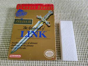 The Legend of Zelda II The Adventure of Link - Nintendo - Authentic - Box Only!