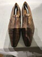 Doucal's Mens Leather Brown Slip On Shoes Size 42.5 Ref Bo17