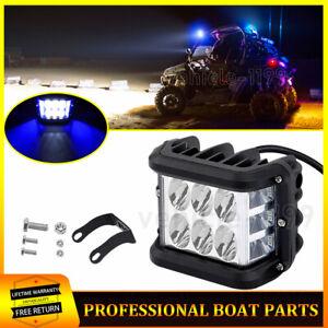 D DOLITY 1 Piece100W Led Car Fog Light H4 8000K White Light Super Bright Daytime Running Light DRL