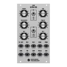 Synthesis Technology E300 Ultra VCO Eurorack Module (Silver)