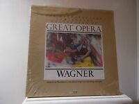TIME LIFE GREAT OPERA - WAGNER - 4LP BOX-SEALED