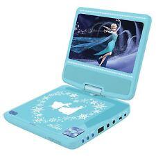 DISNEY congelato ragazzi Portatile DVD Player-Elsa Anna NUOVO UFFICIALE GRATIS P + P