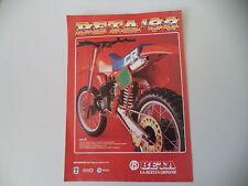 advertising Pubblicità 1982 MOTO BETA CR 250 CROSS
