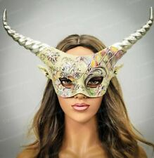 Halloween Costume Ram Horns Fairy Headband Dragon Satyr Headpiece Watercolor Hor