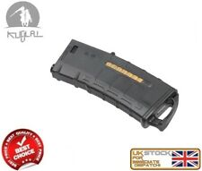 KUBLAI M SERIES M4/16 MID CAP 120 MAGAZINE BLACK AIRSOFT ASG AS.I034-KITA-BK