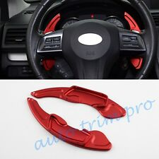 Red Steering Wheel Shift Paddle For Subaru BRZ Forester XV Impreza Outback GT86