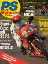 PS8302 + MOTO GUZZI Le Mans III + YAMAHA RD 350 LC YPVS + PS 2/1983