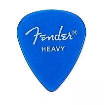 Fender California Clear™ Picks, Heavy, Lake Placid Blue, 144 Count