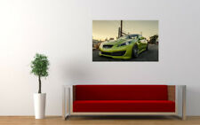 "STANCED HYUNDAI GENESIS COUPE PRINT WALL POSTER PICTURE 33.1""x20.7"""