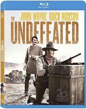 The Undefeated (Blu-ray Disc, 2013) John Wayne Rock Hudson NEW