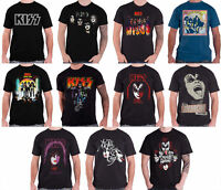 Kiss T Shirt Gene Simmons Destroyer Love Gun band logo new Official Mens