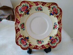 Crown Ducal Ware England Square Side / Teaplate