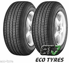 2X Tyres 275 55 R19 111V Continental 4X4 Contact M+S E C 73dB