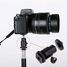 """NEW 1/4"""" Tripod Screw To Hot Shoe Adapter Mount for Canon Nikon Sony DSLR Camera"""