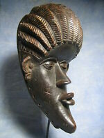AFRICANTIC MASQUE DAN ART AFRICAIN ANCIEN STATUE AFRICAINE AFRICAN MASK AFRIQUE