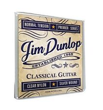 DUNLOP DCP8 HIGH QUALITY BALL END CLASSICAL NYLON GUITAR STRINGS - BALLEND SET