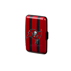 Tampa Bay Buccaneers Hard Case Wallet  Card Holder - Authentic NFL Product