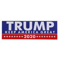 !10PCS Donald Trump President 2020 Bumper Sticker Keep Make America GrSN