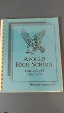 Apollo High School class of 1982 datasheets whatever happened to reunion book