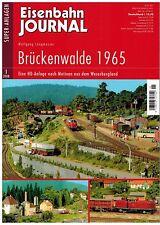 Eisenbahn-Journal, Superanlagen 2008 / 1, Brückenwalde 1965