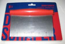 BLOWOUT!!  Stainless Steel Dough Scraper Cutter Kitchen NEW with Plastic Handle