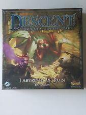 Descent Second Edition : Labyrinth of Ruin New Sealed