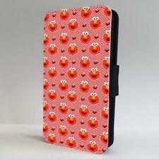 Elmo Sesame Street Pattern Muppets FLIP PHONE CASE COVER for IPHONE SAMSUNG