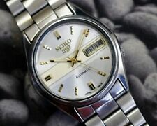 SEIKO 5 AUTOMATIC CAL.7009 MEN'S JAPAN REFURBISHED USED OLD VINTAGE WATCH 193007