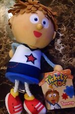 Tickety Toc Mini Plush Tommy, 7 Inch Boys 3 yrs + New 2013