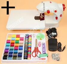 Mini Sewing Machine Home Travel Desk Portable Sew Quick Hand-held Stitch Clothes