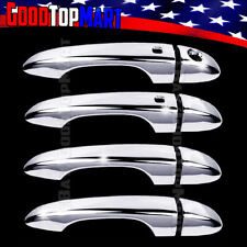 For Dodge DART 2013 2014 2015 2016 Chrome 4 Door Handle Covers WITH Smart w/o PK