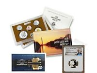 """2020 PROOF SET with FIRST """"W"""" MINT NICKEL, NGC PF69UC, EARLY RELEASES, PORTRAIT"""