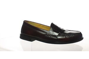 Cole Haan Mens Pinch Penny Burgundy Loafers Size 10.5 (1462632)