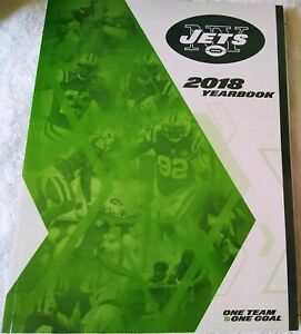 2018 NEW YORK JETS YEARBOOK - New - Excellent Condition