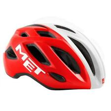 MET Idolo Cycle Helmet Road Integrated Light Size 60/64cm - Red White Glossy