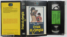 IL VIZIO DI FAMIGLIA RARA VHS 1975
