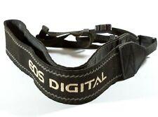 Canon EOS Digital Woven Camera Neck Strap / Shoulder Strap - Black With Grey
