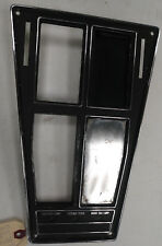 OEM 1969 Corvette Shifter Console Plate Nice Shape One Year Only