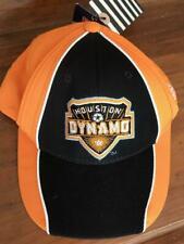 NWT FITMAX 70 Orange Black Houston DYNAMO Soccer Baseball Cap Unisex Hat ADIDAS