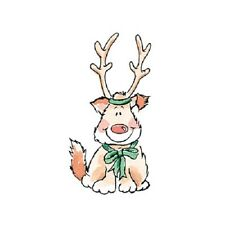 PENNY BLACK RUBBER STAMPS REINDEER PUP STAMP