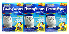 3 TRIAMINIC FLOWING VAPORS PORTABLE FAN NON-MEDICATED COLD COUGH CHERRY