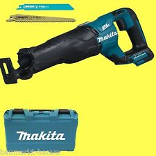Makita Scie avec Batterie DJR187ZK Solo Malette + 2x Säbelsäge-blatt