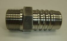 "SSP 1"" Hose X 3/4"" MNPT Stainless Steel Hose end  Dixon RKHN881 no part #"