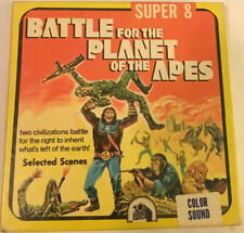 BATTLE FOR THE PLANET OF THE APES 200ft Color Sound Super-8 film